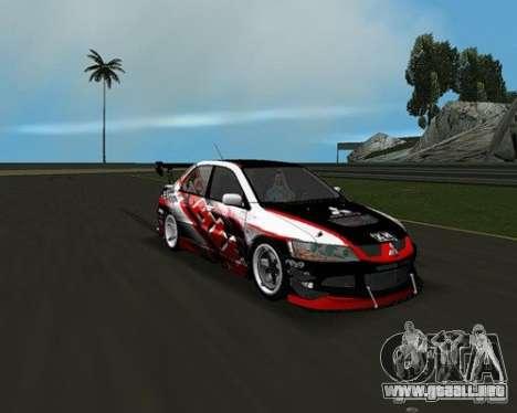 Mitsubishi Lancer Evo VIII para GTA Vice City