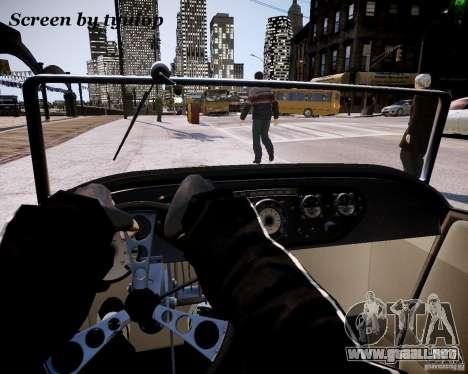 Roadster High Boy para GTA 4 vista hacia atrás