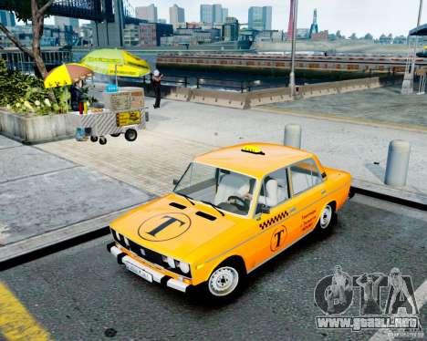 Taxi 2106 VAZ para GTA 4