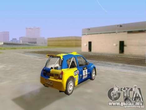 Renault Clio Super 1600 para GTA San Andreas left