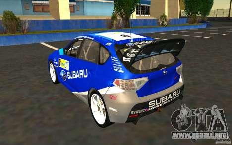 Nuevos vinilos para Subaru Impreza WRX STi para las ruedas de GTA San Andreas