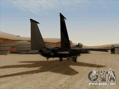 F-15C para GTA San Andreas left
