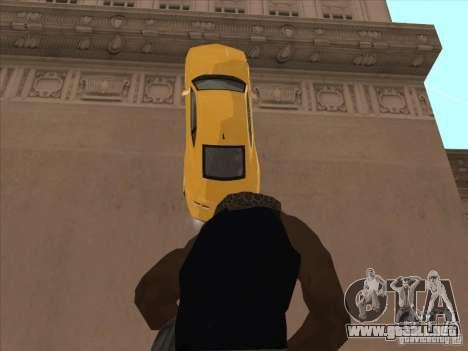 Montar a caballo en las paredes para GTA San Andreas sucesivamente de pantalla