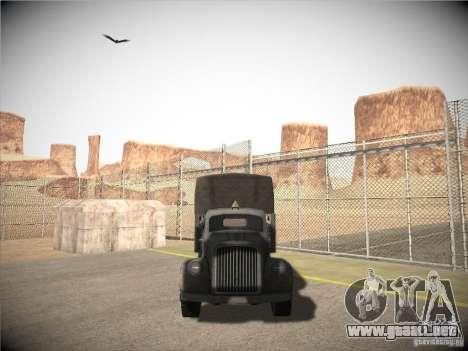 Mercedes-Benz Truck 1941 para GTA San Andreas vista hacia atrás