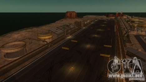 Nevada Drift Map para GTA 4 segundos de pantalla