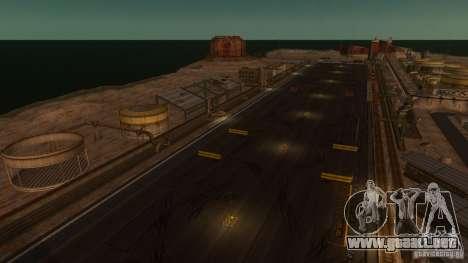 Nevada Drift Map para GTA 4 segundos de pantalla