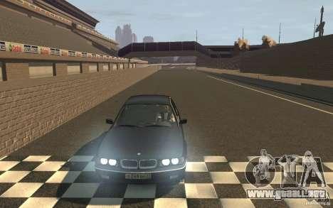 BMW 750i (e38) v2.0 para GTA 4 vista hacia atrás