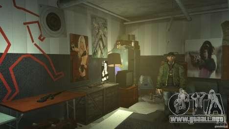 Retextured Broker Gunshop para GTA 4 quinta pantalla