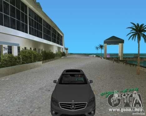 Mercedess Benz CL 65 AMG para GTA Vice City vista lateral izquierdo