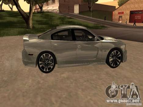 Dodge Charger SRT8 2011 V1.0 para GTA San Andreas vista hacia atrás