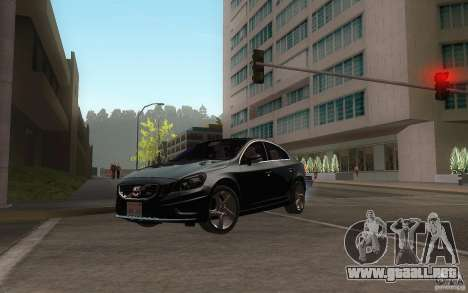 Volvo S60 2011 para visión interna GTA San Andreas
