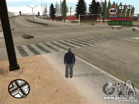 Todas Ruas v3.0 (Las Venturas) para GTA San Andreas segunda pantalla