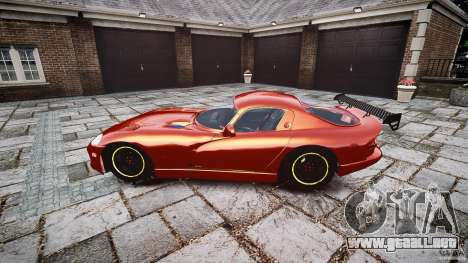 Dodge Viper 1996 para GTA 4 left