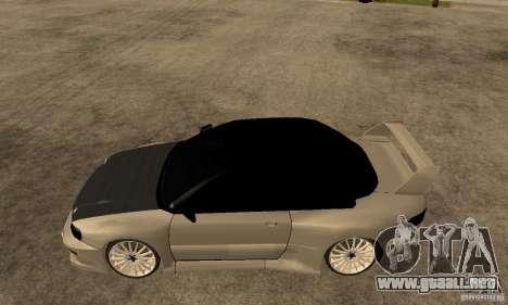 Subaru Impreza 22B STI Tuning para GTA San Andreas left