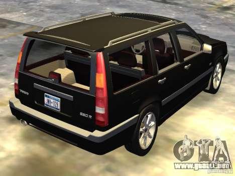 Volvo 850 R 1996 Rims 1 para GTA 4 Vista posterior izquierda