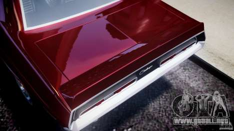 Dodge Challenger 1971 para GTA 4 vista interior