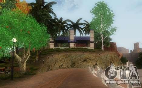New Country Villa para GTA San Andreas novena de pantalla