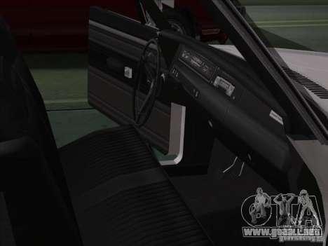 Plymouth Roadrunner 440 para visión interna GTA San Andreas