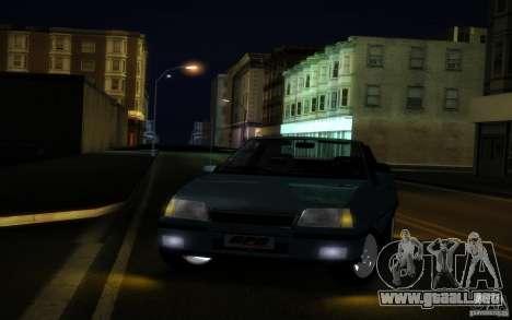 Chevrolet Kadett GSI Cabrio para visión interna GTA San Andreas