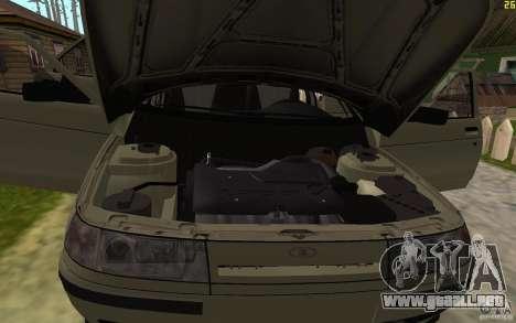 VAZ-21103 para vista inferior GTA San Andreas