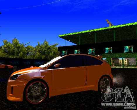 Ford Focus ST Racing Edition para GTA San Andreas vista hacia atrás