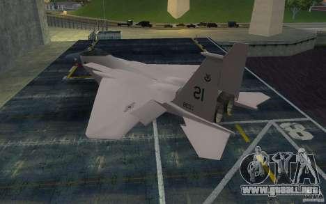 F-15 para GTA San Andreas left