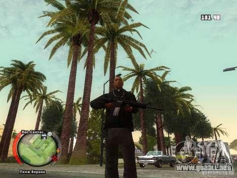 New HUD by shama123 para GTA San Andreas quinta pantalla