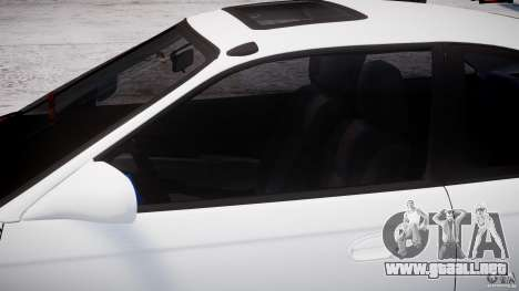 Honda Civic Si 1999 JDM [EPM] para GTA 4 vista interior