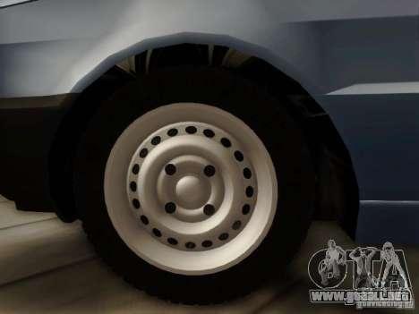 Fiat Premio Edit para GTA San Andreas vista posterior izquierda