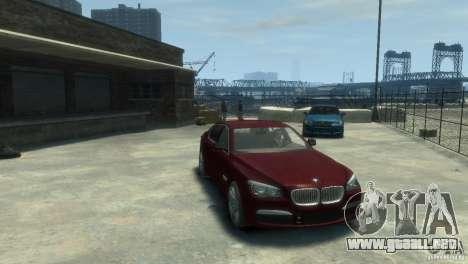 BMW 750i (F01) para GTA 4 visión correcta
