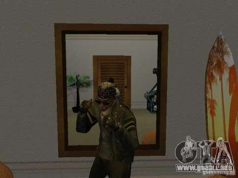 Chaqueta de cráneo para GTA San Andreas tercera pantalla