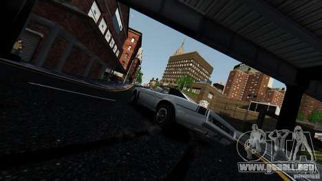 Tampa desde el GTA EFLC para GTA 4 Vista posterior izquierda