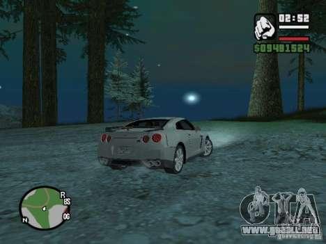 Nissan Skyline GTR para la visión correcta GTA San Andreas