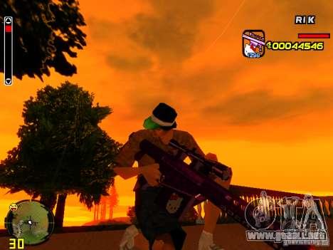 Hello Kitty weapon para GTA San Andreas quinta pantalla
