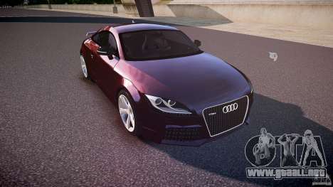Audi TT RS v3.0 2010 para GTA 4 vista interior