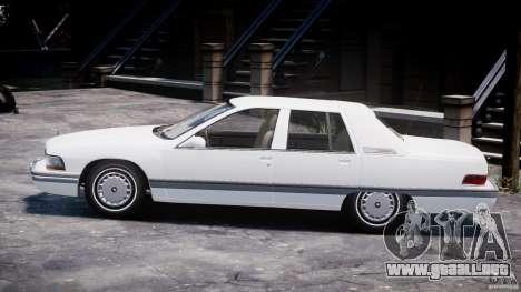 Buick Roadmaster Sedan 1996 v1.0 para GTA 4 Vista posterior izquierda