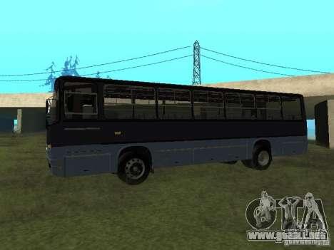 Ikarus C60 para GTA San Andreas left