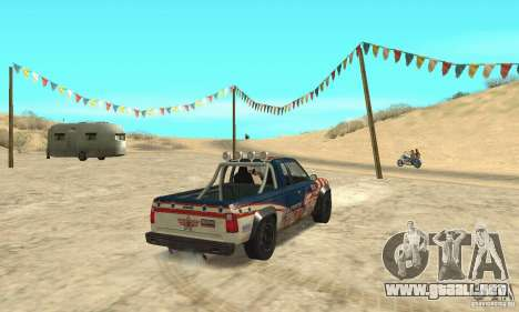 Nevada v1.0 FlatOut 2 para GTA San Andreas left