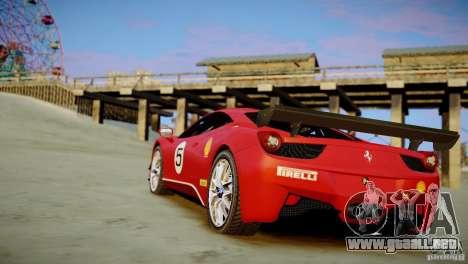 Ferrari 458 Challenge 2011 para GTA 4 left