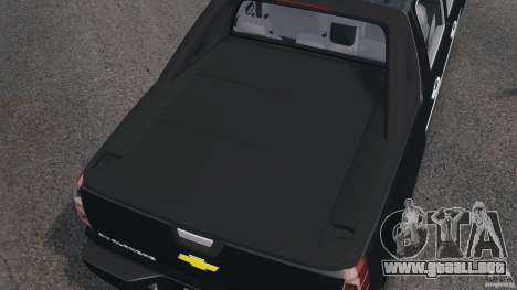 Chevrolet Avalanche Stock [Beta] para GTA 4 vista superior