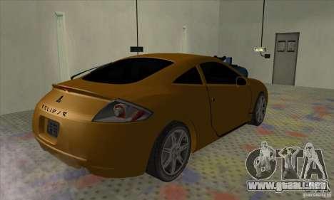 Mitsubishi Eclipse GT para GTA San Andreas left