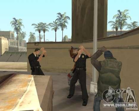 Locos vagos para GTA San Andreas segunda pantalla