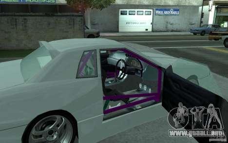 Elegy MS R32 para la visión correcta GTA San Andreas