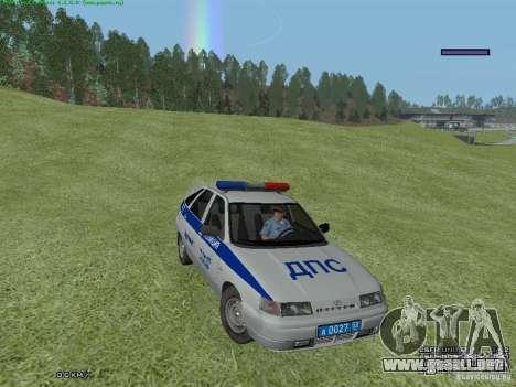 LADA 2112 DPS policía para GTA San Andreas