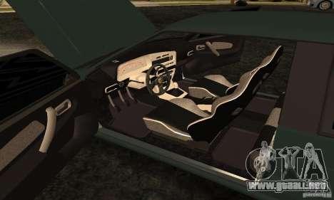 Ferrari 2113 VAZ para visión interna GTA San Andreas