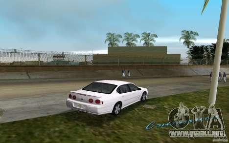 Chevrolet Impala SS 2003 para GTA Vice City visión correcta