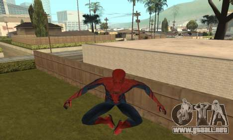 The Amazing Spider-Man Anim Test v1.0 para GTA San Andreas
