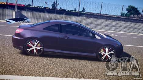 Honda Civic Si Tuning para GTA 4 vista interior