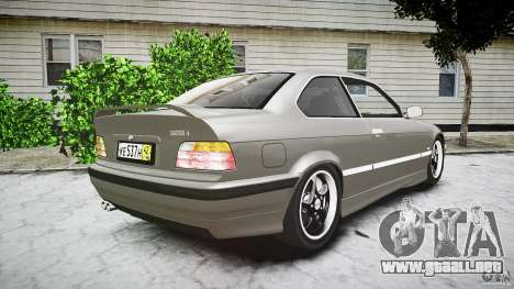 BMW E36 328i v2.0 para GTA 4 vista lateral