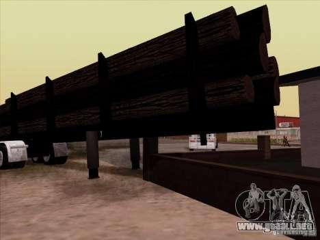 Trailer Kenworth K100 Aerodyne para la visión correcta GTA San Andreas